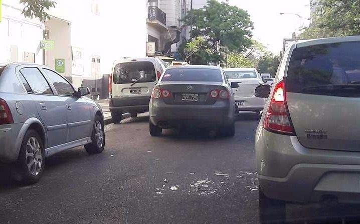 Un accidente complica la circulación en 45, 2 y 3