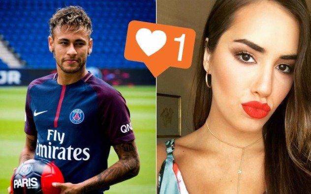 Neymar le dio 'like' a Lali Espósito y lo mandaron al frente