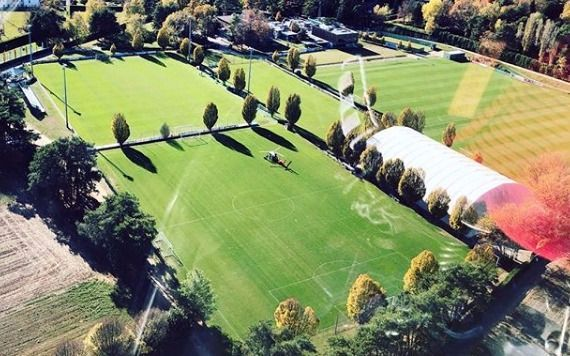¿Extravagancia o profesionalismo?:  Icardi fue al entrenamiento en helicóptero