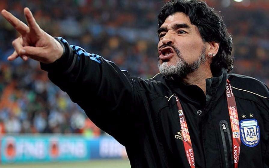 """""""¡Yo quiero volver!"""", el mensaje de Maradona tras la derrota ante Nigeria"""