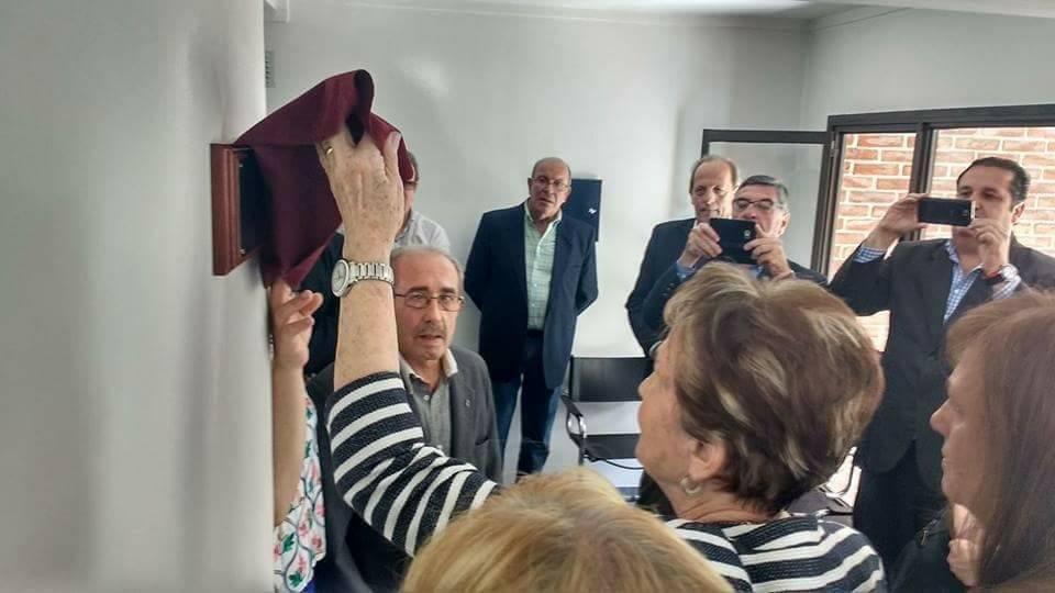 Homenaje a Juan María Manganiello en el Círculo de Periodistas de la Provincia