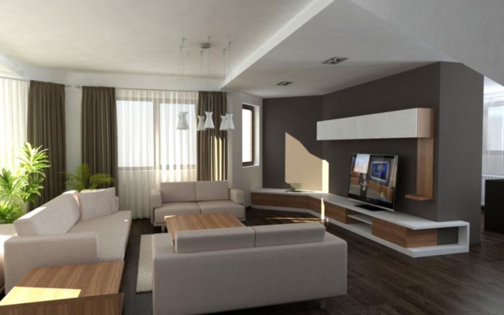 el living moderno tiende a dar mayor espacio a la integracin se trata de crear condiciones armonioas en el lugar ms social de cualquier casa - Living Moderno