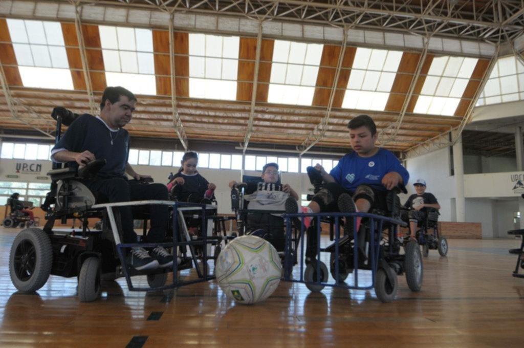 Powerchair en Gimnasia: los sueños detrás de una pelota