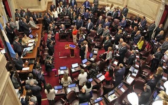Después de la jura de senadores, hubo amenaza de bomba en el Congreso