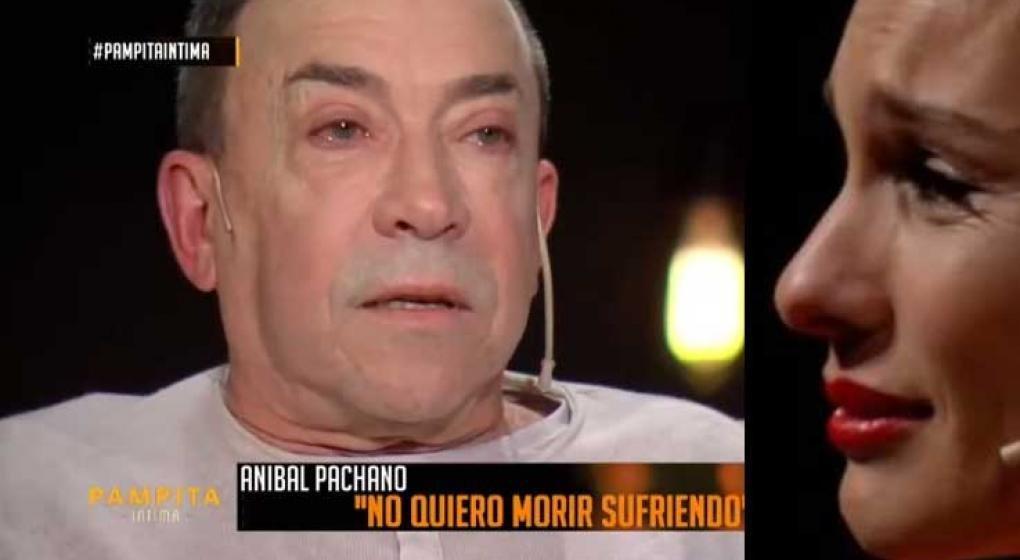 Pachano se quebró al hablar del avance de su enfermedad