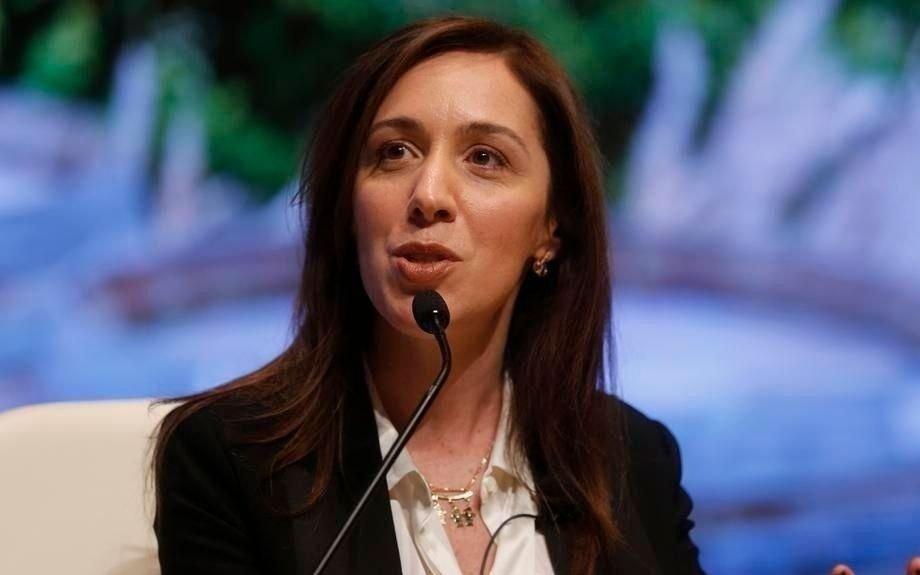 Vidal envía el Presupuesto del año próximo al Senado bonaerense