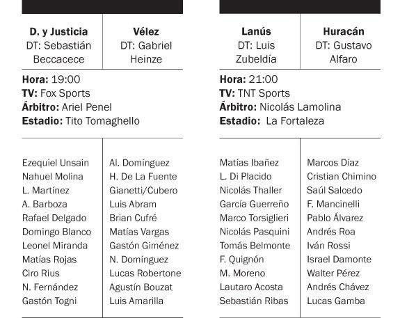 Lanús-Huracán, por la Superliga: horario, TV y formaciones