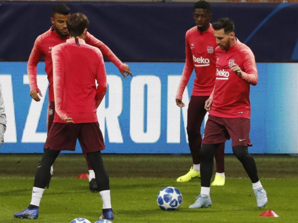 Inter - Barça : les compositions officielles des deux équipes sans Messi