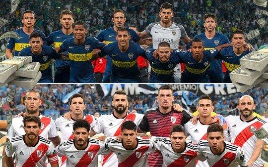 Los millones de la Superfinal: lo que cotizan los planteles de Boca y River