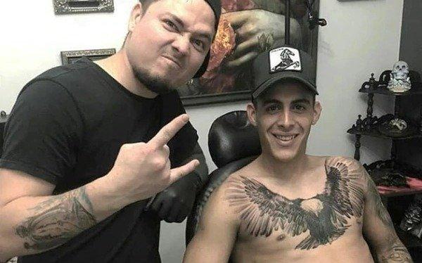 El tatuaje impactante que se realizó uno de los jugadores de la Superfinal