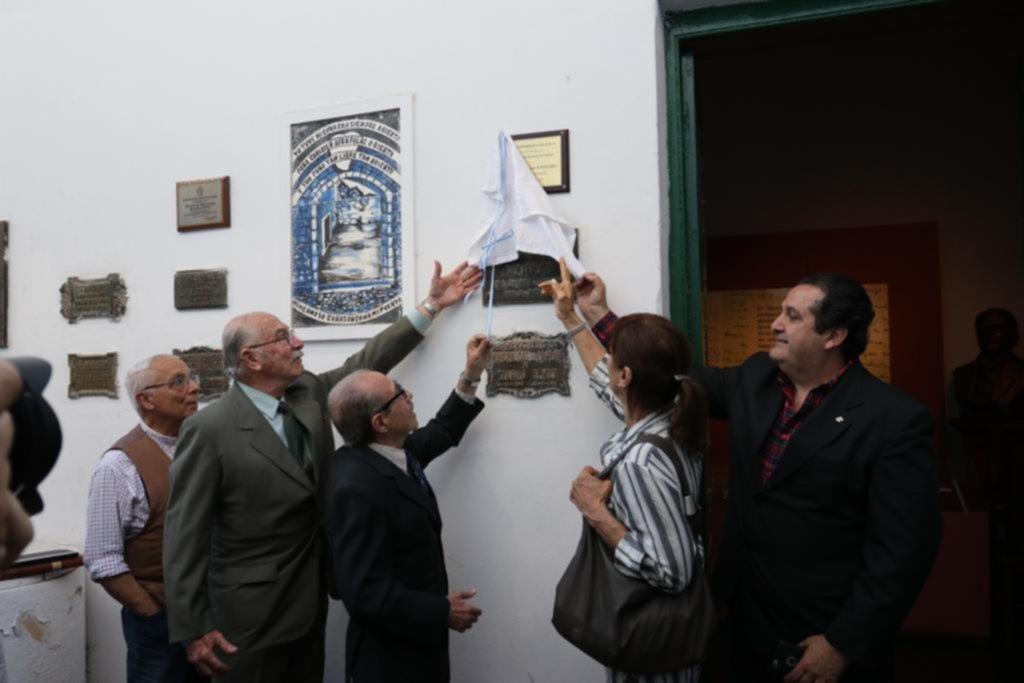 El poeta Almafuerte, presidente honorario del Círculo de Periodistas