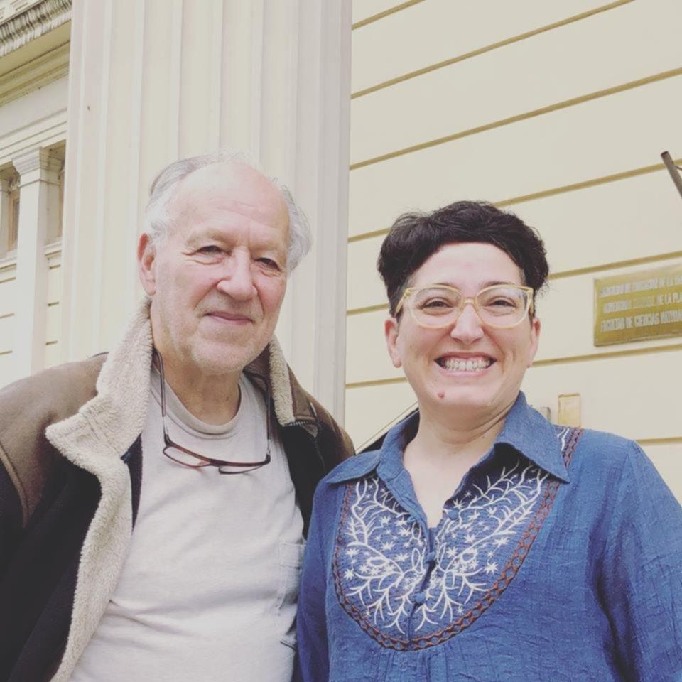 Sorpresa: Werner Herzog y una visita fugaz a La Plata: filmó en el Museo de Ciencias Naturales