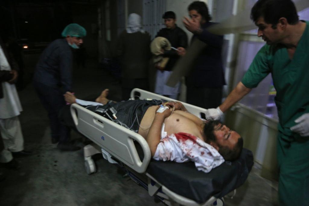 Explosión en Kabul deja al menos 40 muertos