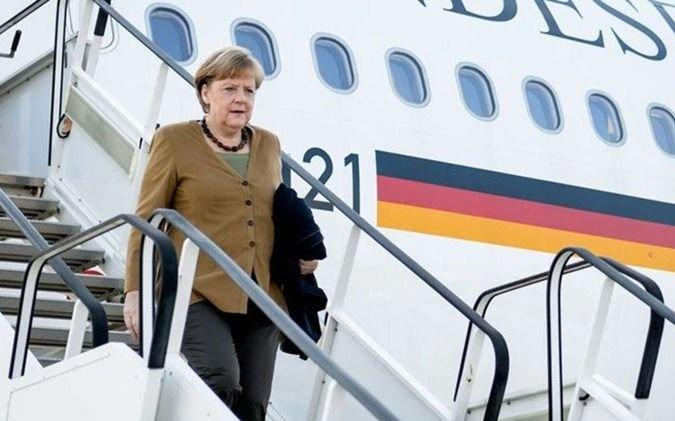 Merkel venía para Argentina pero debió volverse a Alemania
