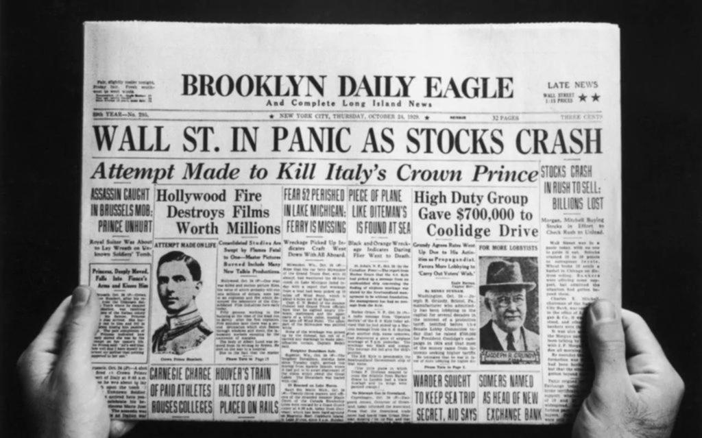 Cómo se desencadenó hace 90 años la peor crisis en la historia de Wall Street