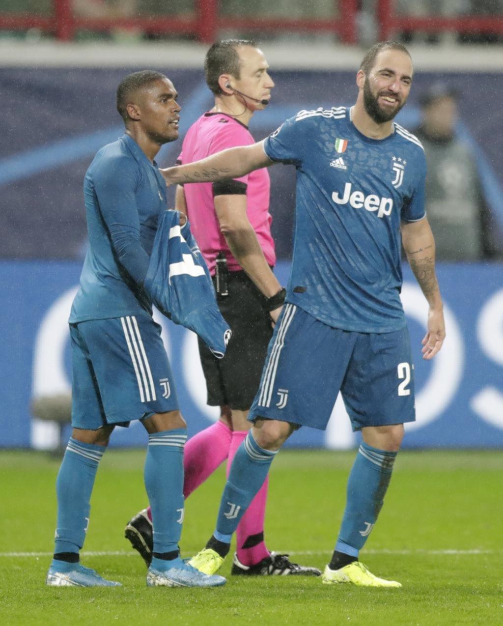 Juventus accedió a octavos de final de la Champions