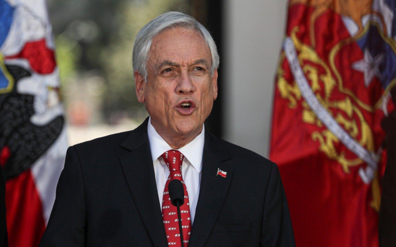 """Piñera anuncia una agenda para """"fortalecer el orden público"""" en Chile"""