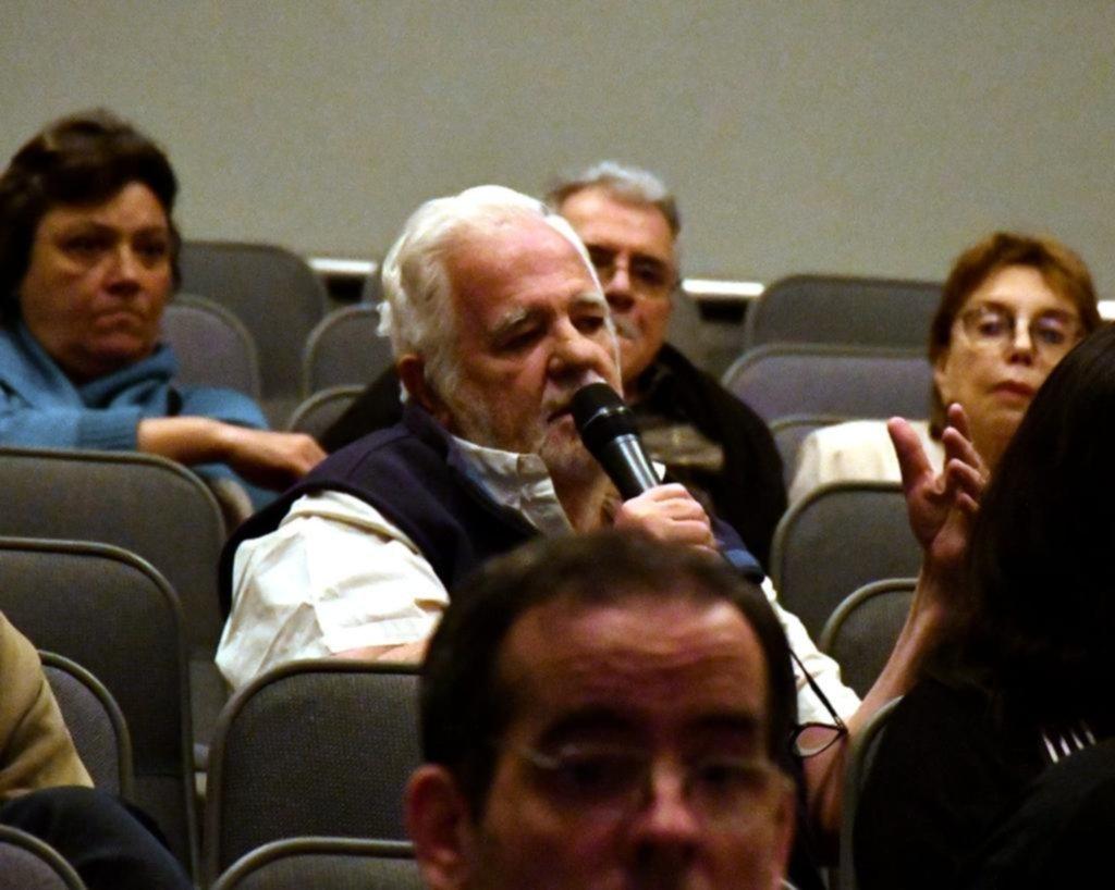 Reapareció Carrascosa y habló en público sobre la escena del crimen de María Marta