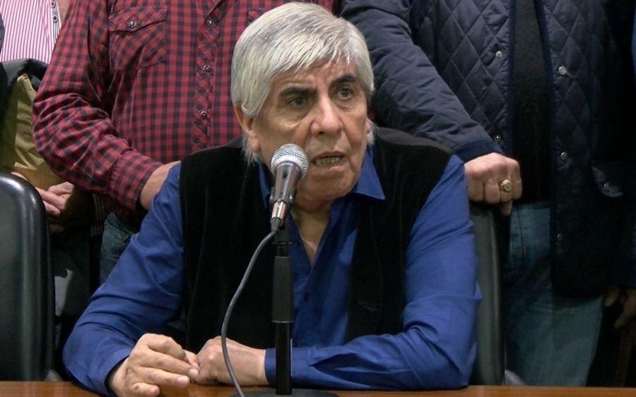 """Moyano, durísimo contra Macri: """"Gracias a Dios que se va, no se soportaba más esta política de hambre"""""""