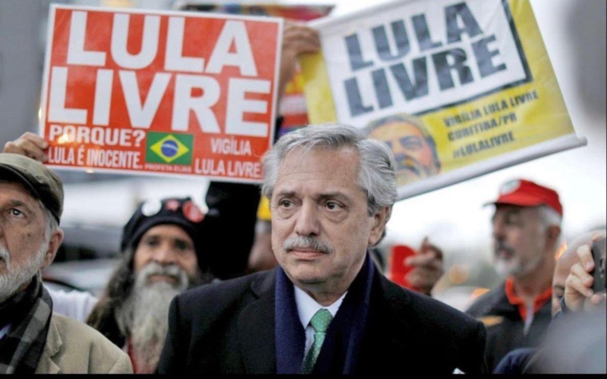 Alberto Fernández celebró liberación de Lula y adelantó que lo invitará a su asunción