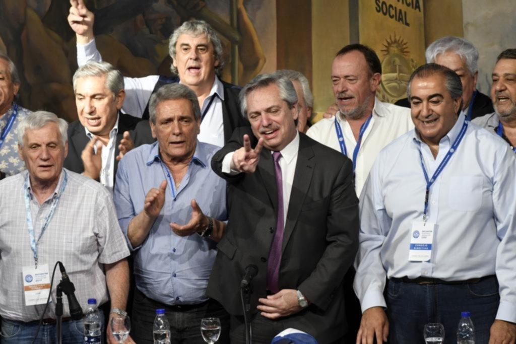 """""""El movimiento obrero será parte del próximo gobierno"""" dijo Fernández"""