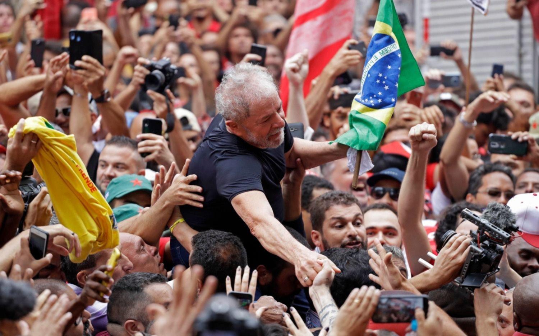 """Lula: """"No saben las ganas que tengo de pelear por este país y por los trabajadores"""""""