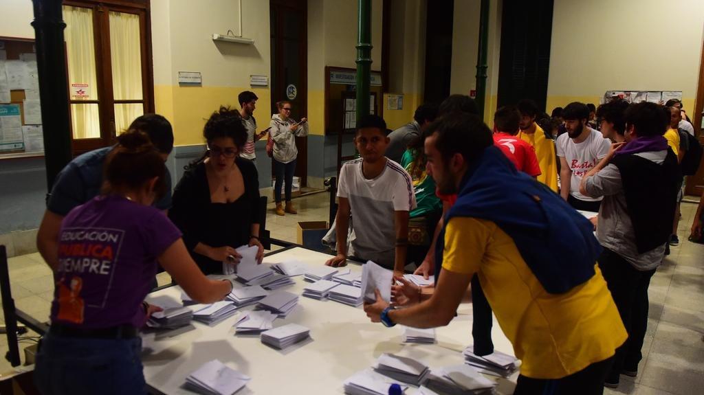 Con los golpes de la Franja y el peronismo se polariza el mapa estudiantil de la UNLP