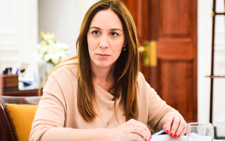 Vidal convocó a una reunión de gabinete  ampliado en La Plata