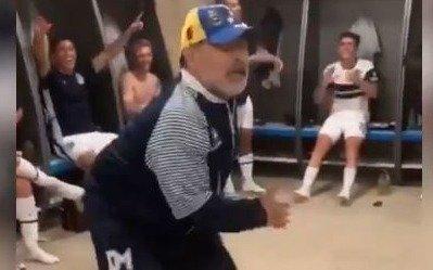 VIDEO. El Diez a puro baile tras la victoria de Gimnasia ante Aldosivi