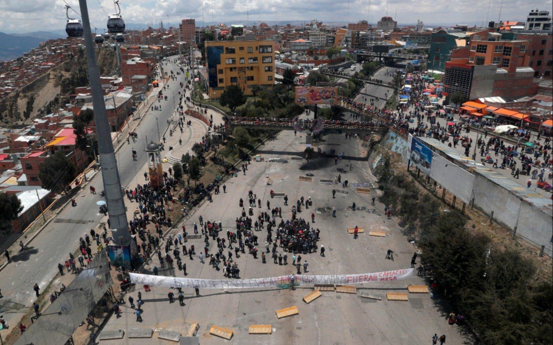 Las Fuerzas Armadas bolivianas le pidieron la renuncia a Evo Morales
