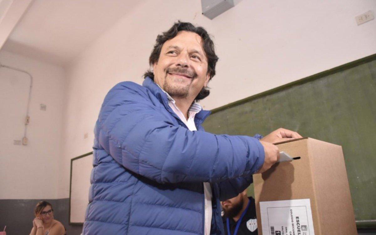 Salta: Sáenz gana con casi un 28% de diferencia y se convierte en el nuevo gobernador