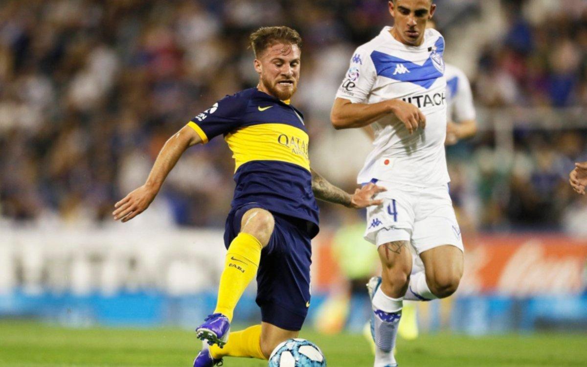 Boca empató con Vélez en Liniers y es puntero junto a Lanús y Argentinos Juniors