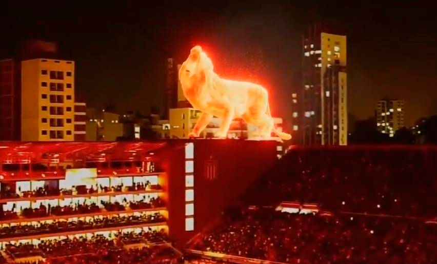 El león en realidad virtual volvió a ser un gran protagonista