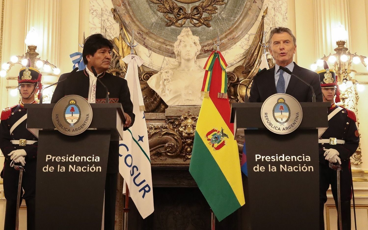 """Macri habló sobre la situación en Bolivia: """"Todos estamos preocupados"""""""