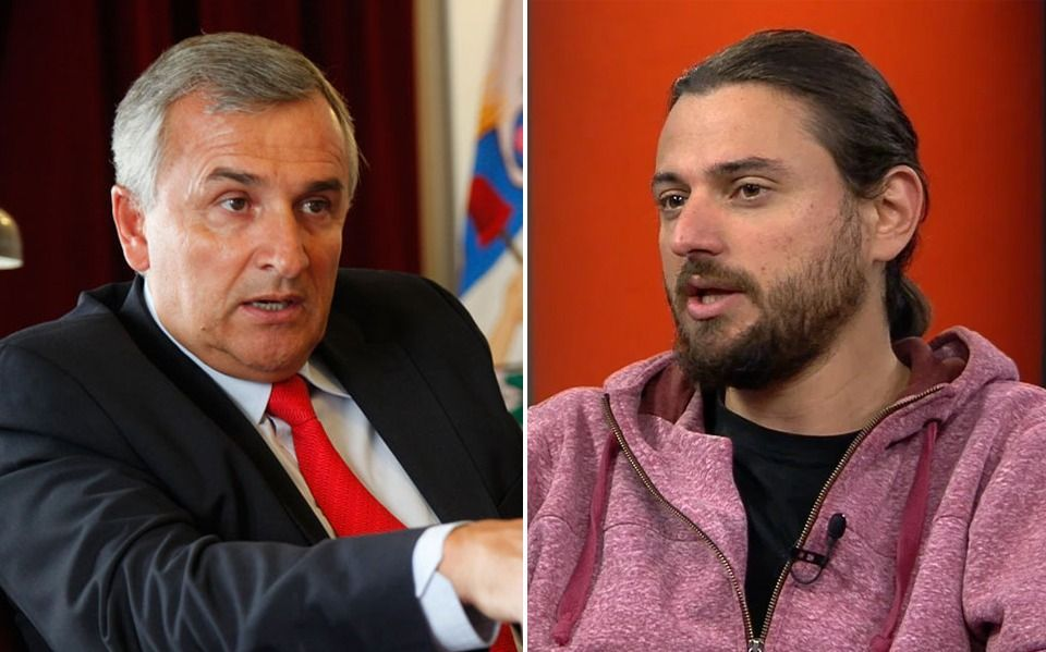 "Gerardo Morales a Juan Grabois: ""Sos un pelotudo importante"""