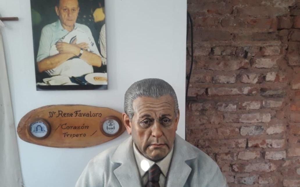 La donación de una estatua de Favaloro ya emociona al pueblo tripero