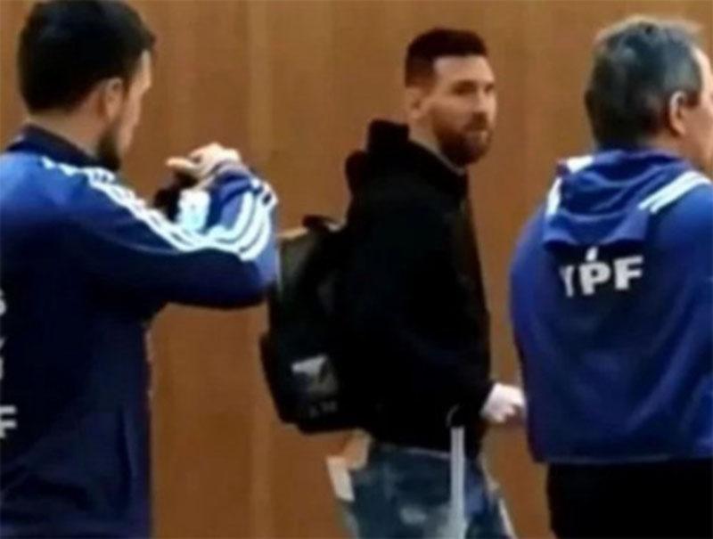 Con Messi en el gimnasio y Lautaro Martínez en duda, la Selección trabajó en Mallorca