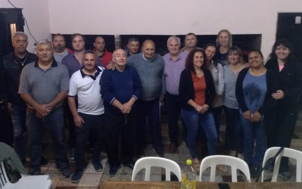 Asumieron nuevas autoridades en el club Argentino Juvenil