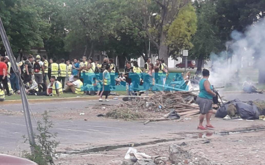 Jornada de protestas y complicaciones viales en distintos puntos de la Ciudad
