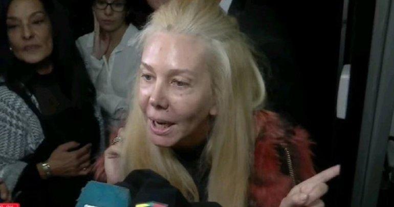 No se cansa: Nannis denunció a Caniggia en la Justicia