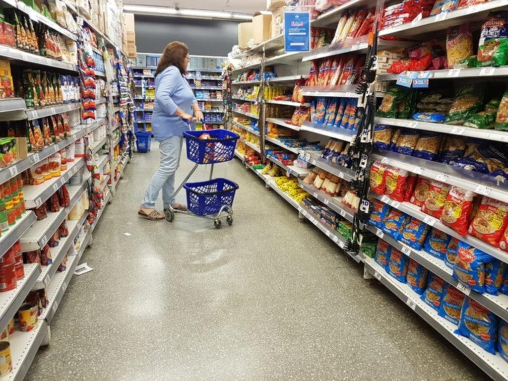 El consumo no reacciona: lácteos, carnes y hasta fideos en caída libre