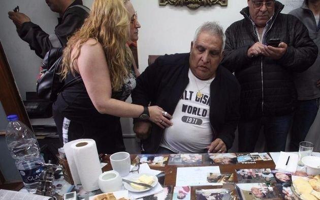 """El detenido """"Pata"""" Medina debió ser trasladado de urgencia a un hospital"""