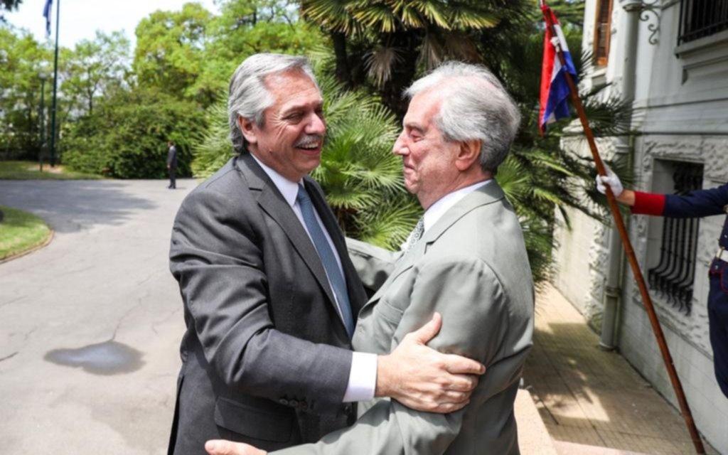 """Alberto Fernández: """"Voy a estar encantado de recibir a Evo Morales"""""""