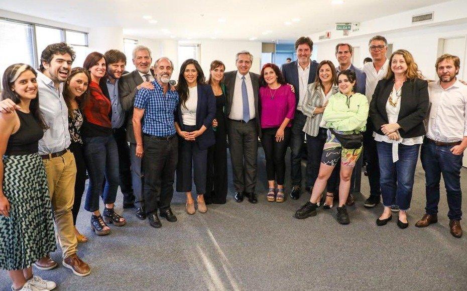 Fernández se reunió con legisladores porteños actuales y electos del Frente de Todos
