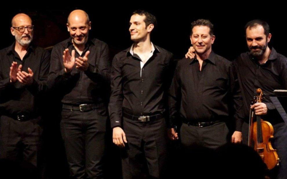 El Quinteto Astor Piazzolla ganó el Grammy Latino al Mejor disco de Tango