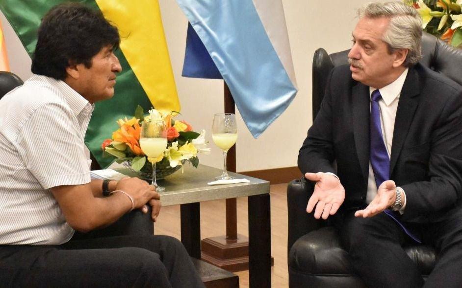 Evo Morales no le cierra la puerta a la invitación de A. Fernández de vivir en Argentina