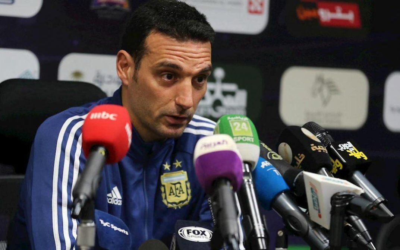 """Lionel Scaloni destacó que el seleccionado argentino """"juega bien y eso es lo importante"""""""