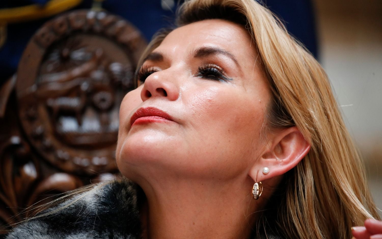 """La presidenta interina de Bolivia le pidió a Mauricio Macri: """"Que sea más claro"""""""