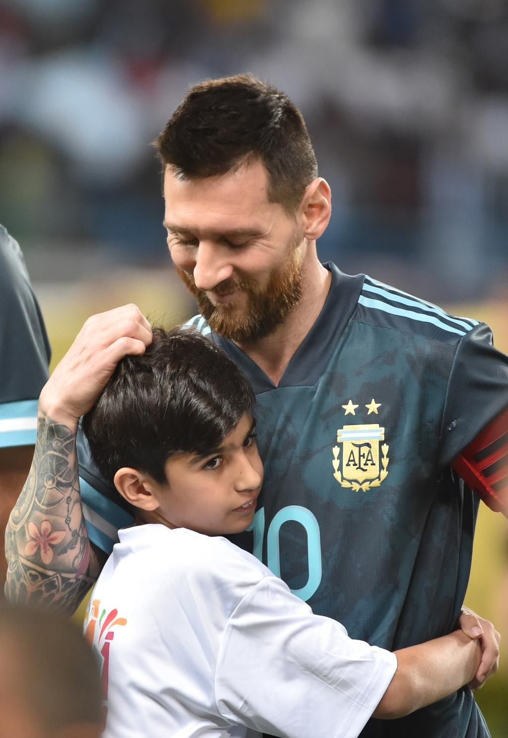 La otra cara de Messi