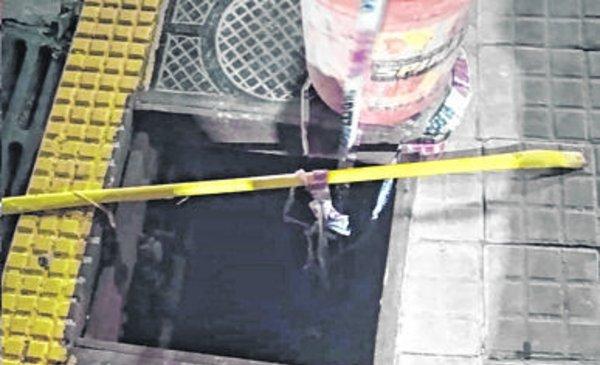 Piden la reposición de una tapa en la esquina de 11 y 60 - La Ciudad - Diario El Dia. www.eldia.com